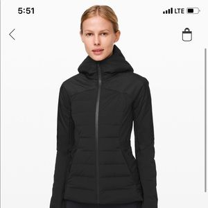 Lululemon puff jacket
